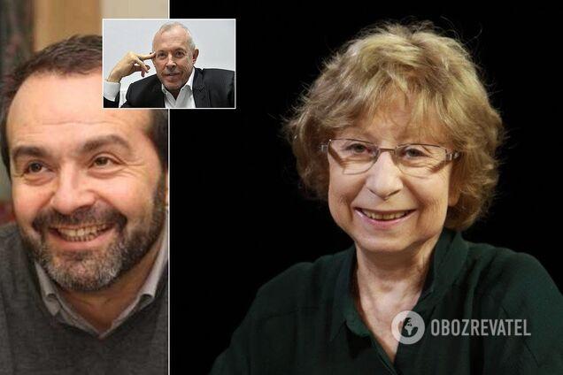 Віктор Шендерович, Андрій Макаревич, Лія Ахеджакова