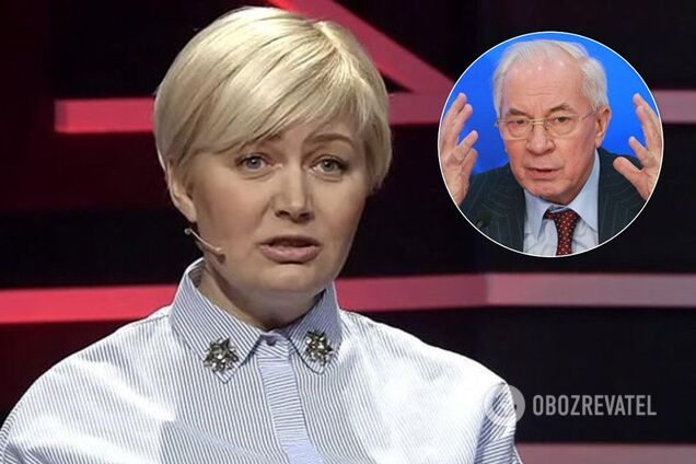 Лариса Ницой и Николай Азаров
