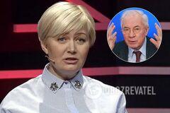 'Чей это голос из унитаза?' Ницой разнесла Азарова за украинский национализм