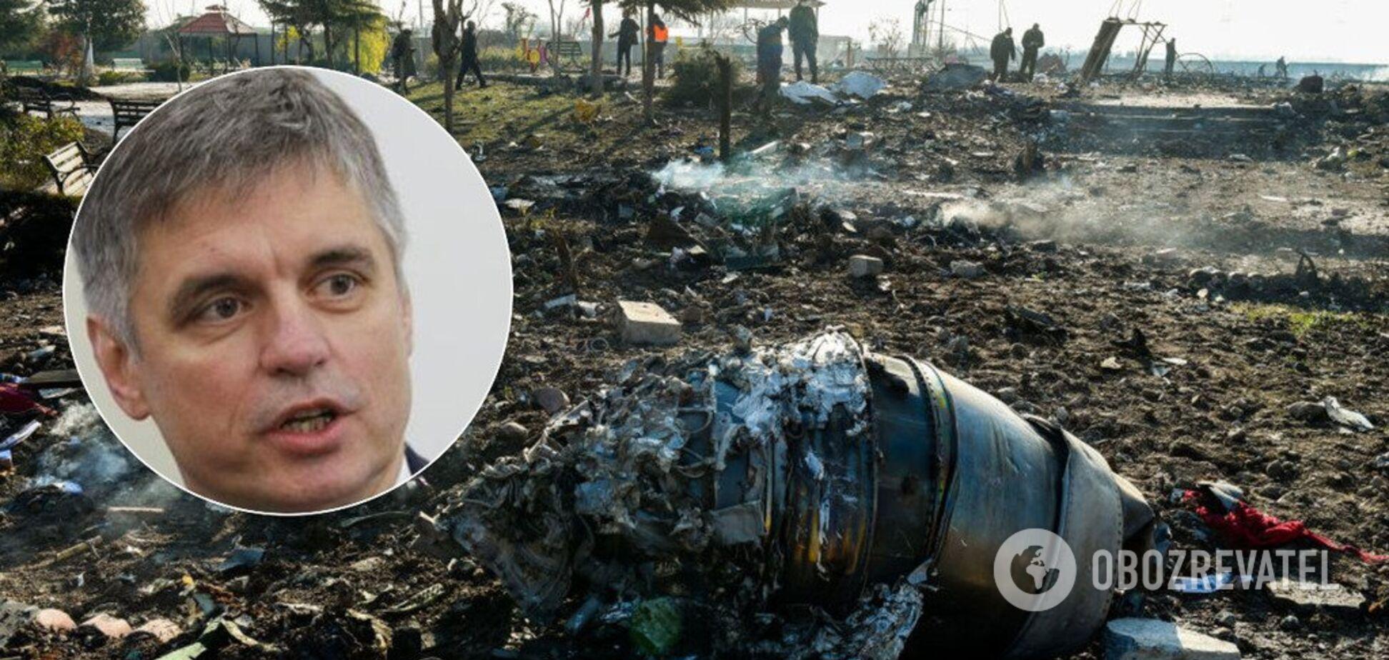 'Чорні скриньки' та візит іранців до України: Пристайко повідомив деталі розслідування катастрофи МАУ