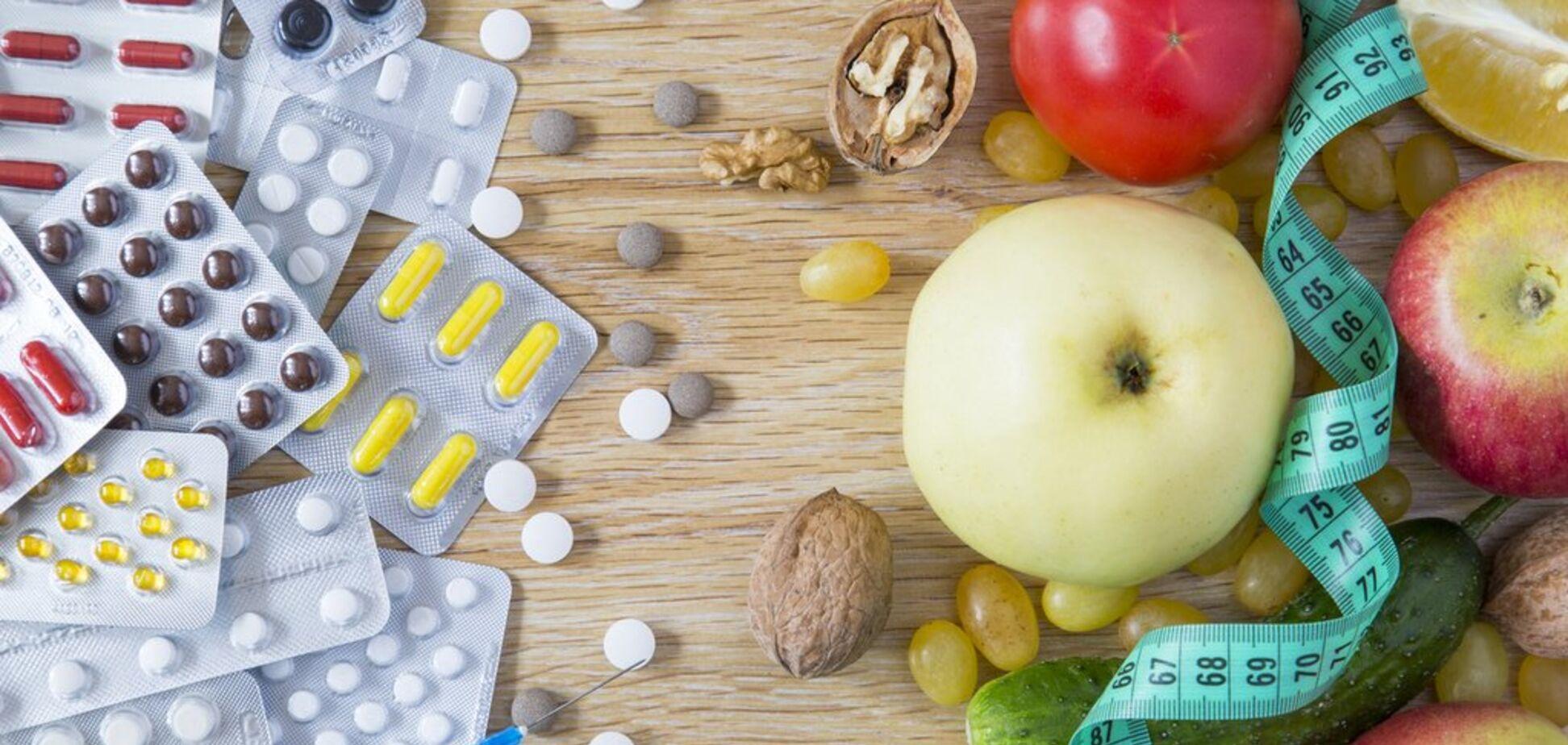 Назван список продуктов, которые опасно употреблять с лекарствами