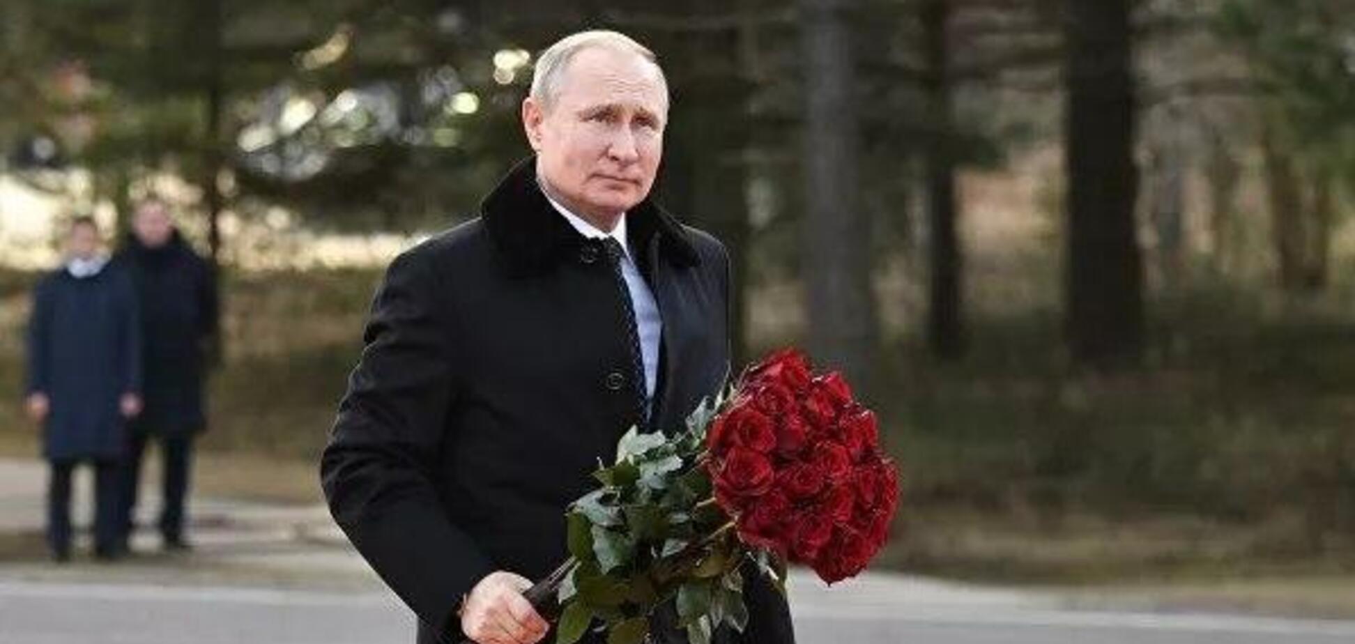 'Упырь все уничтожает!' Путина жестко разнесли за 'пиар на костях': фото и видео