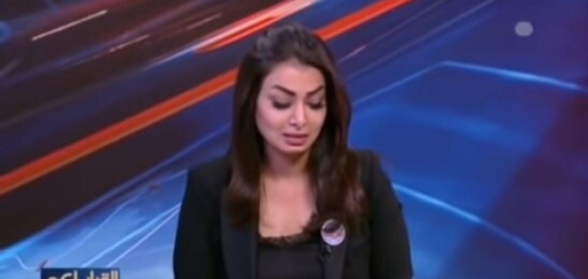 Ведущая новостей во время прямого эфира узнала об убийстве брата: трогательное видео