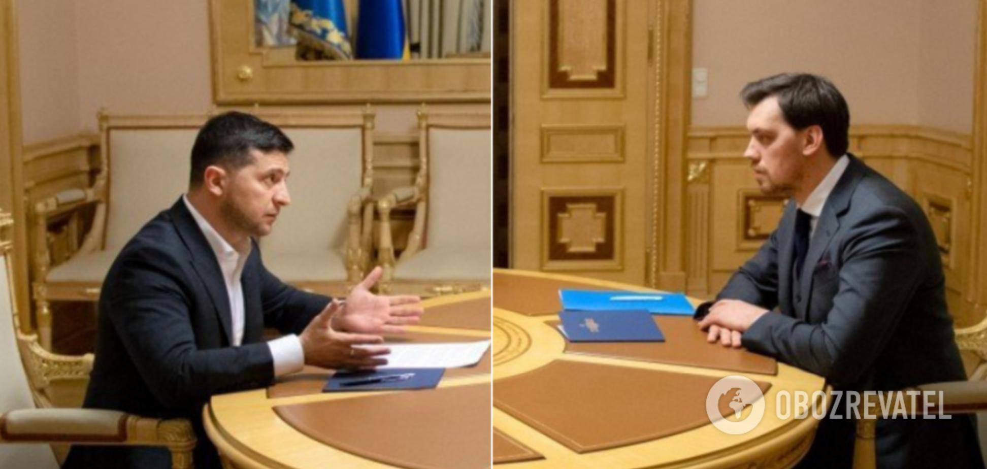 Мережу підірвали пародії на тет-а-тет Зеленського і Гончарука