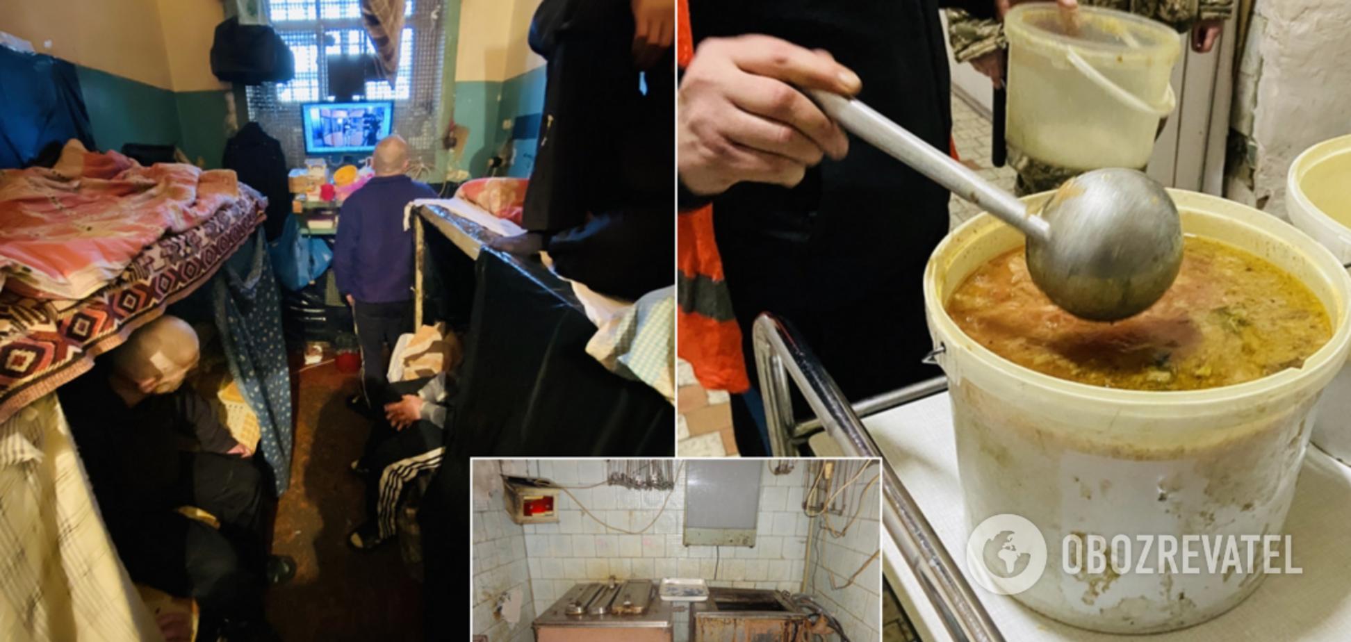 Туберкульоз, грибок і сплять по черзі: з'явилися нові жахливі фото з Лук'янівського СІЗО