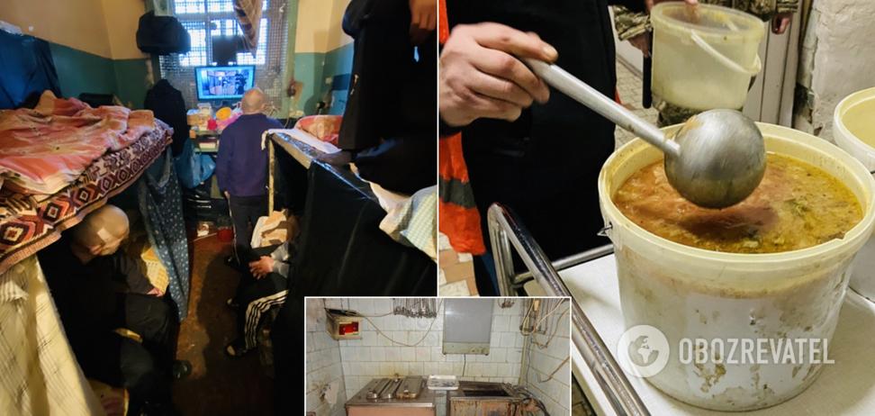 Туберкулез, грибок и спят по очереди: появились новые ужасающие фото из Лукьяновского СИЗО