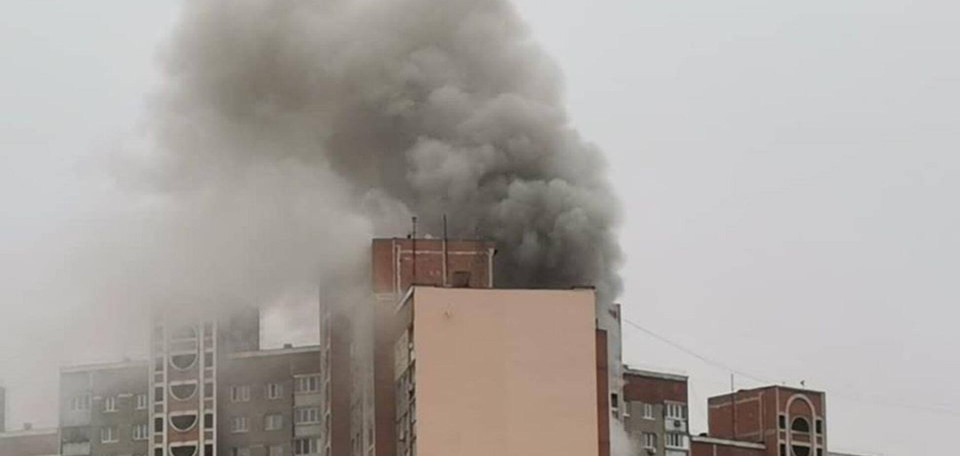 Выяснились'герои' пожара в многотоэтажке Киева