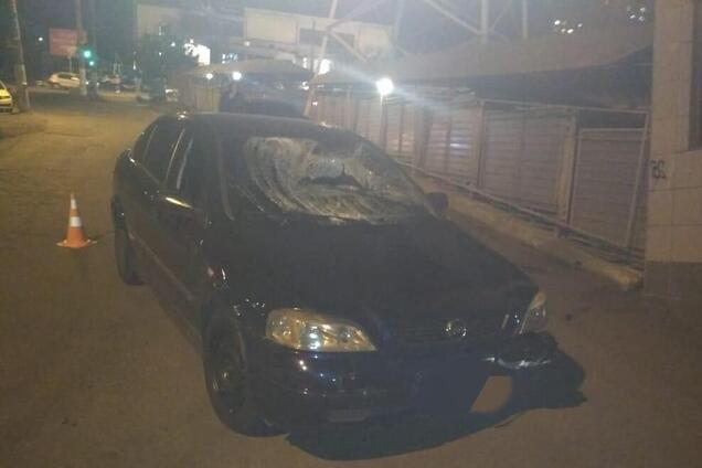Полицейский сбил двух пешеходов в Одессе
