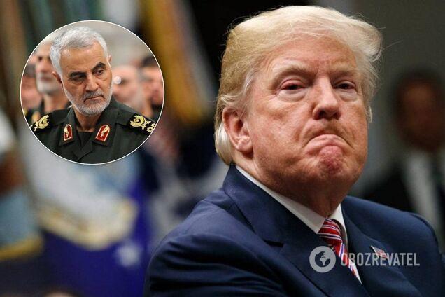Трамп розповів нові подробиці про вбивство іранського генерала Касема Сулеймані