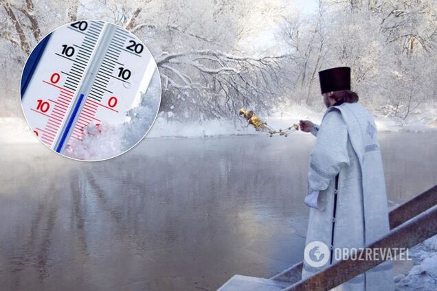 На Крещение в Украине похолодает