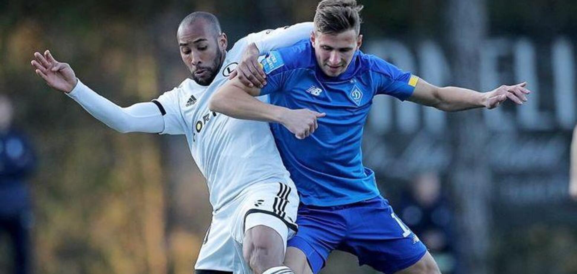 'Динамо' ефектно уникло поразки в першому матчі на зборах