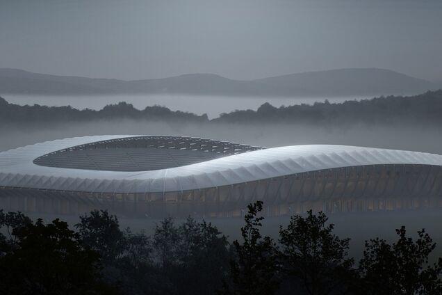Проект стадиона в английском Глостершире