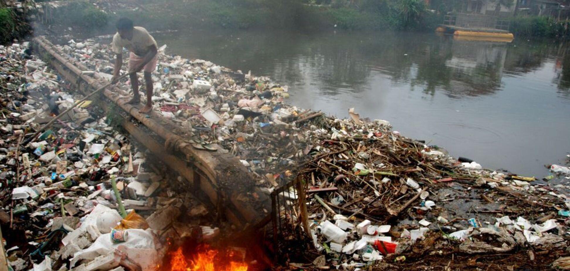 Уничтожение океана: найдены основные источники 'грязного' пластика