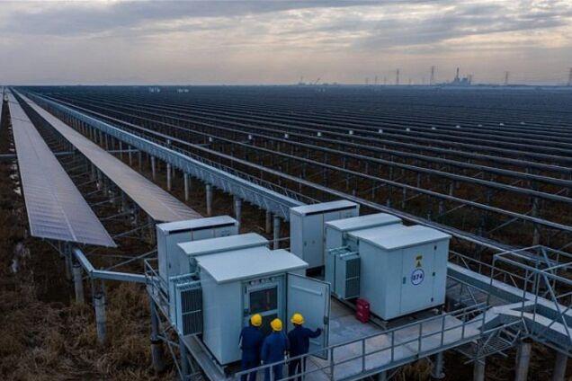 В Китае запустили необычную солнечную станцию