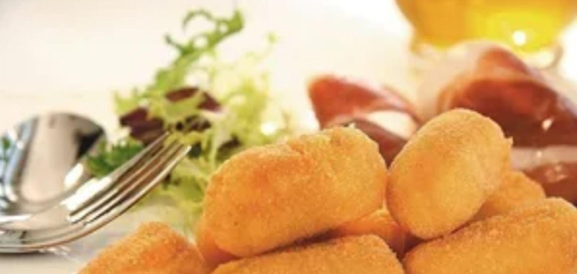 Рецепт дуже смачної закуски з картоплі