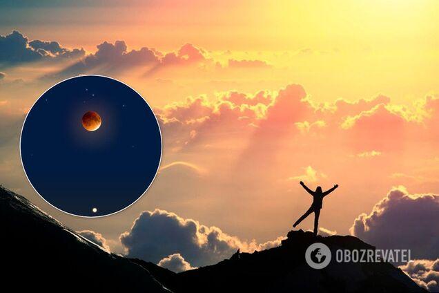 Лунное затмение 10 января может подарить здоровье, деньги, любовь и удачу