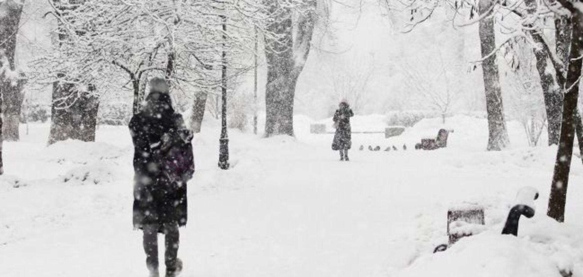 До 20 см снігу: синоптики дали точний прогноз до кінця зими в Україні