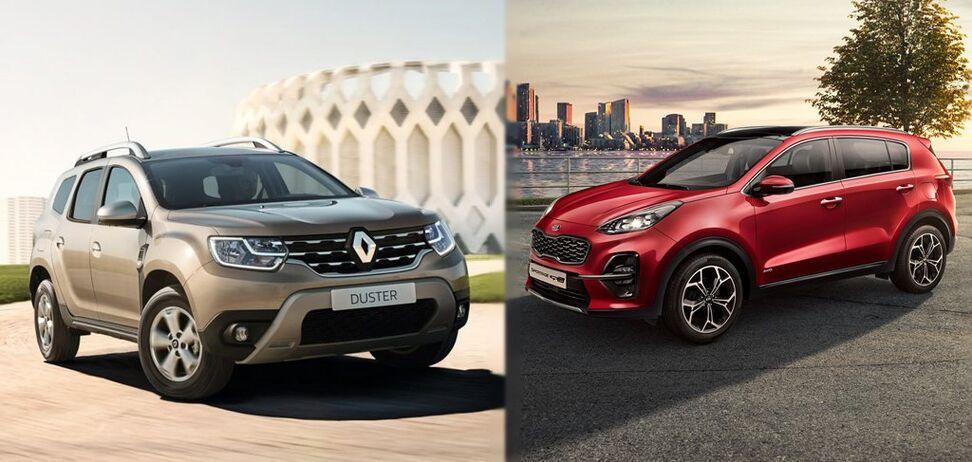 Renault Duster против Kia Sportage: какие авто покупали украинцы в 2019 году