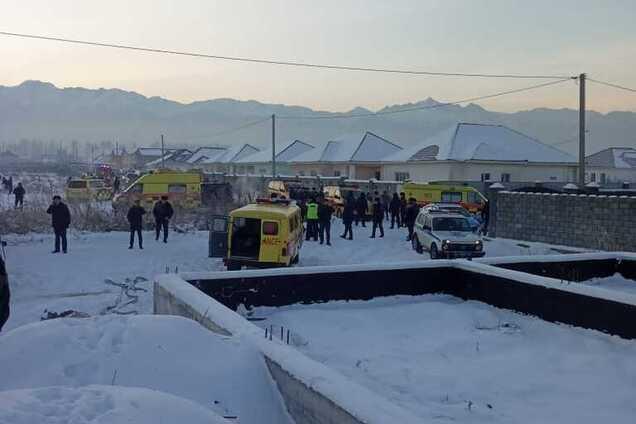 Катастрофа літака у Казахстані
