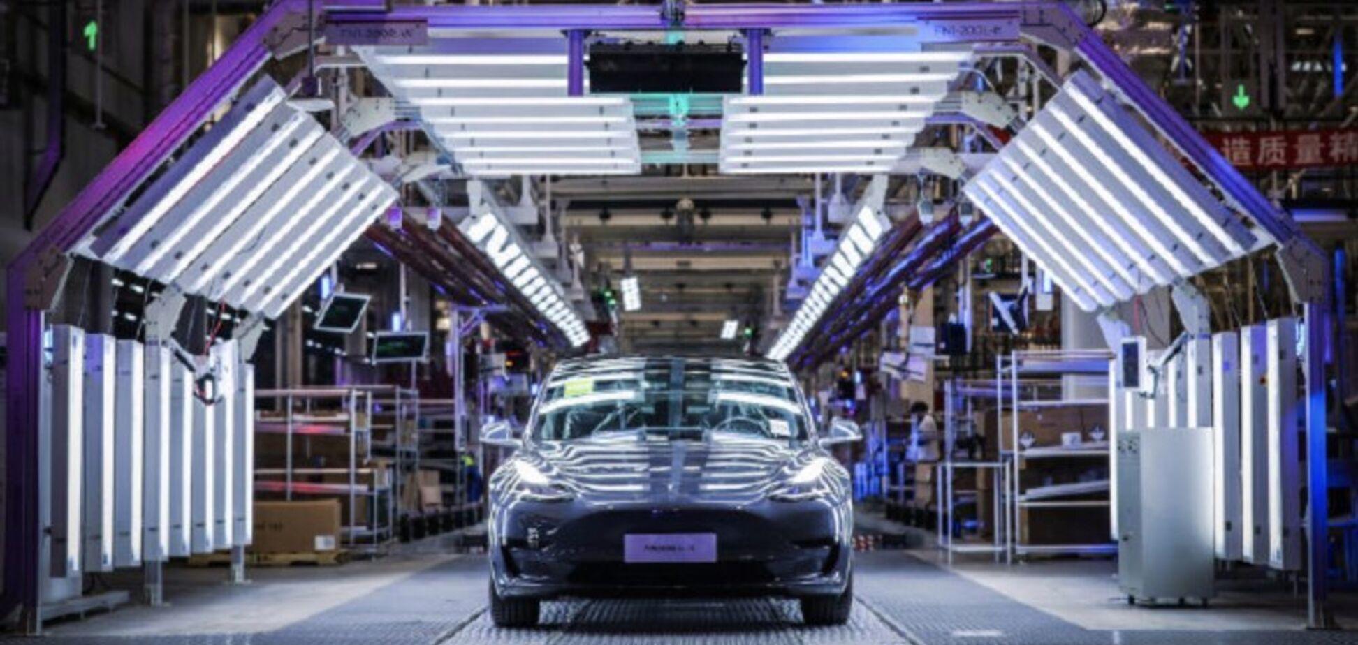 Tesla начала выпуск электрокаров в Китае: озвучены детали