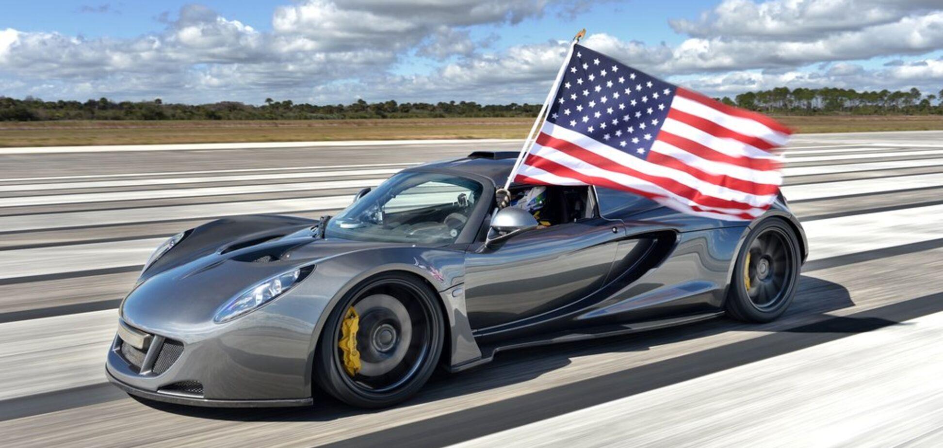 Топ-10 самых безумных суперкаров от Hennessey Performance: видео