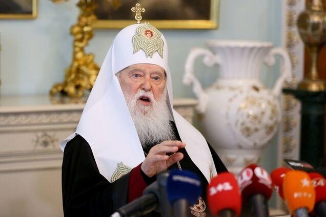 Филарет обратился к Константинополю из-за ликвидации КП