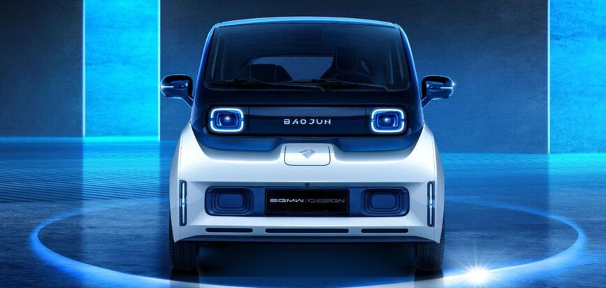 General Motors показала компактный городской электромобиль: свежие фото