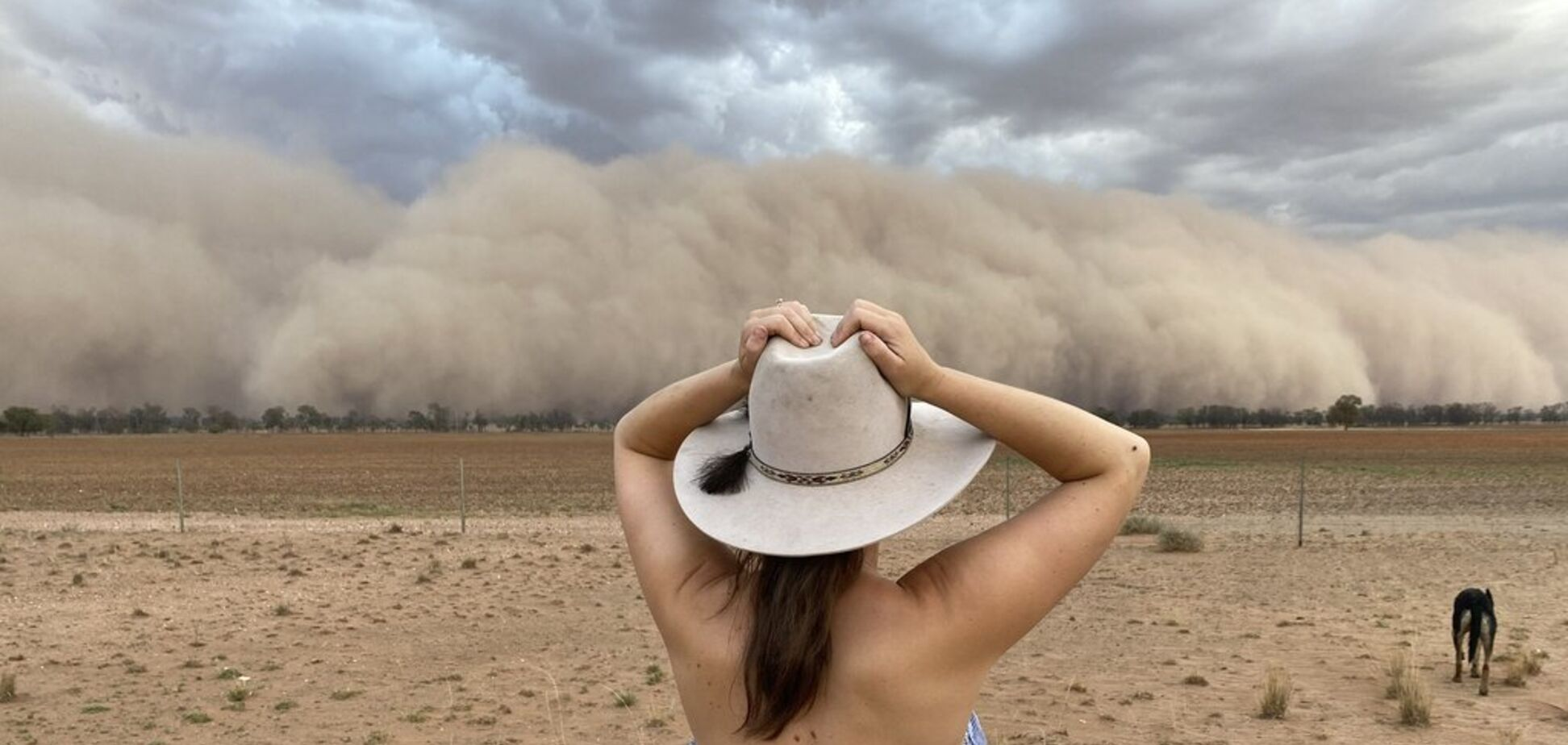 'День превратился в ночь': Австралию накрыла мощная пыльная буря. Фото и видео