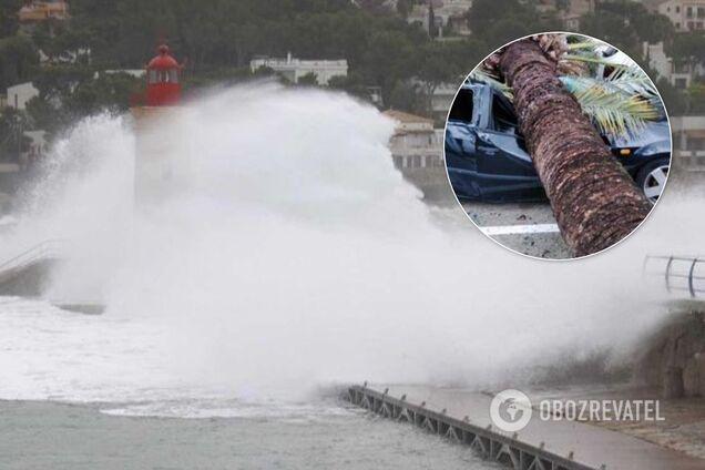 На Испанию обрушился мощный шторм