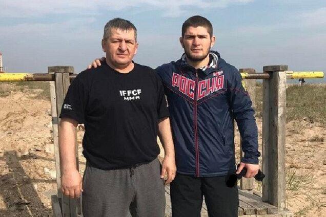 Адбулманап і Хабіб Нурмагомедова