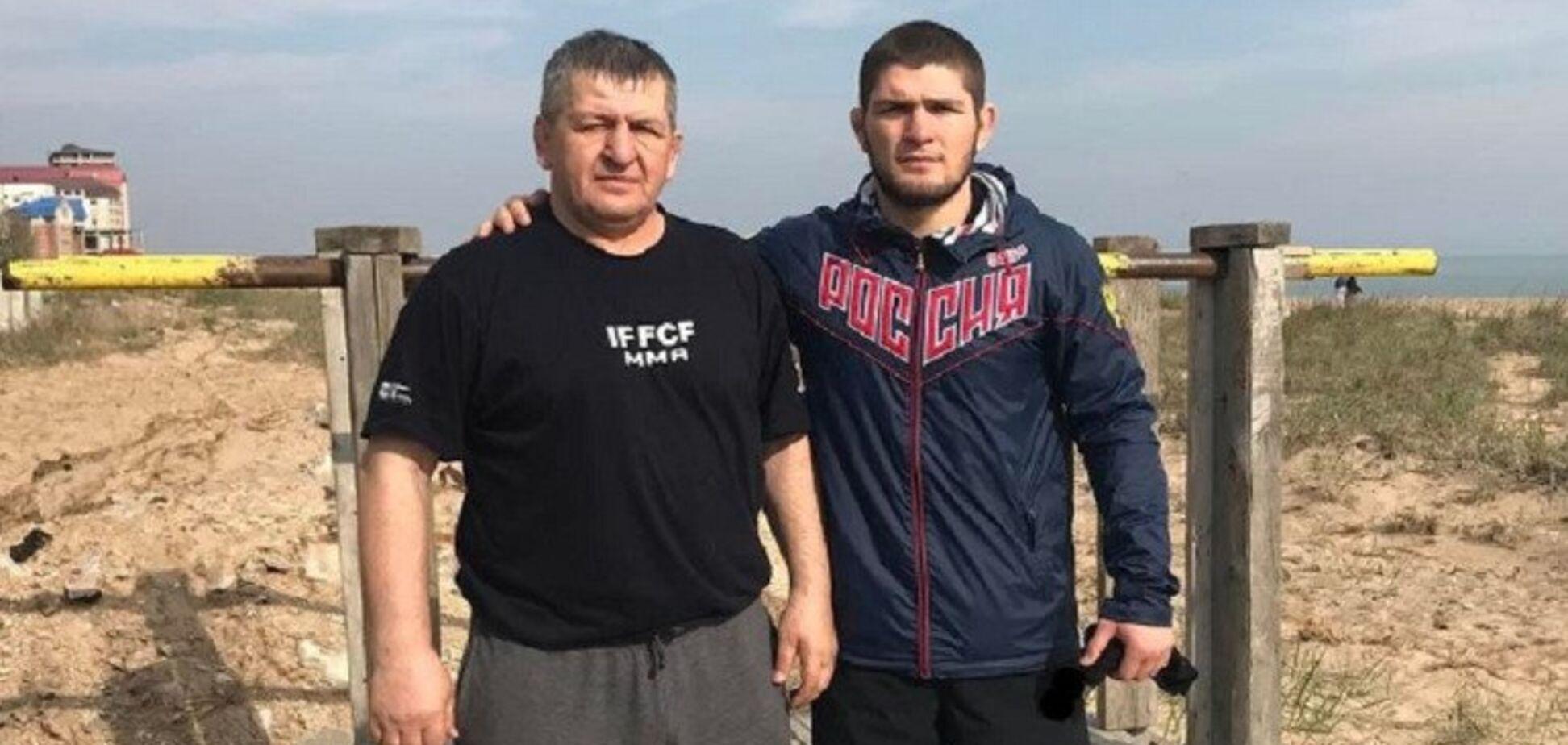 Адбулманап и Хабиб Нурмагомедовы