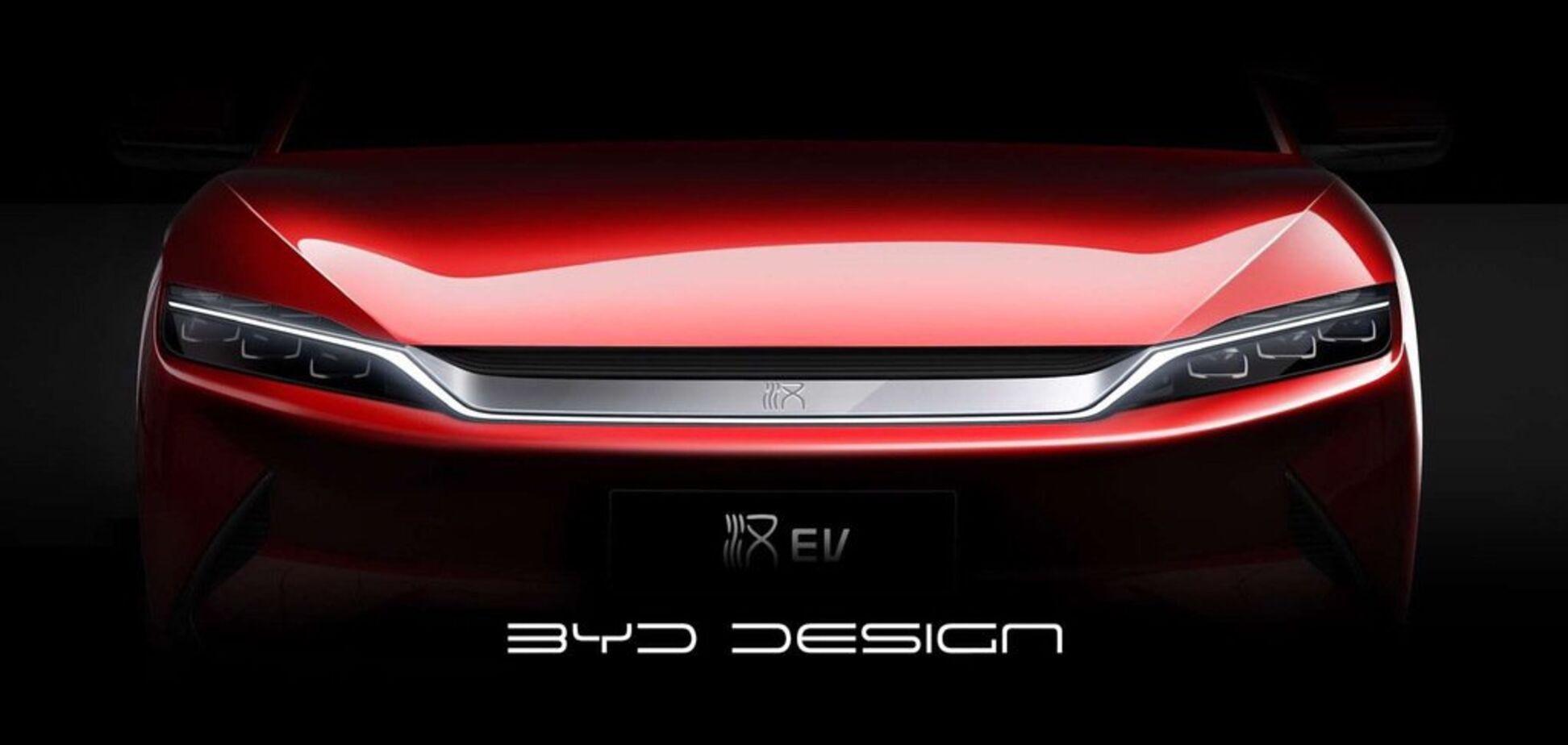 На рівні Tesla: в Пекіні показали унікальний електричний седан