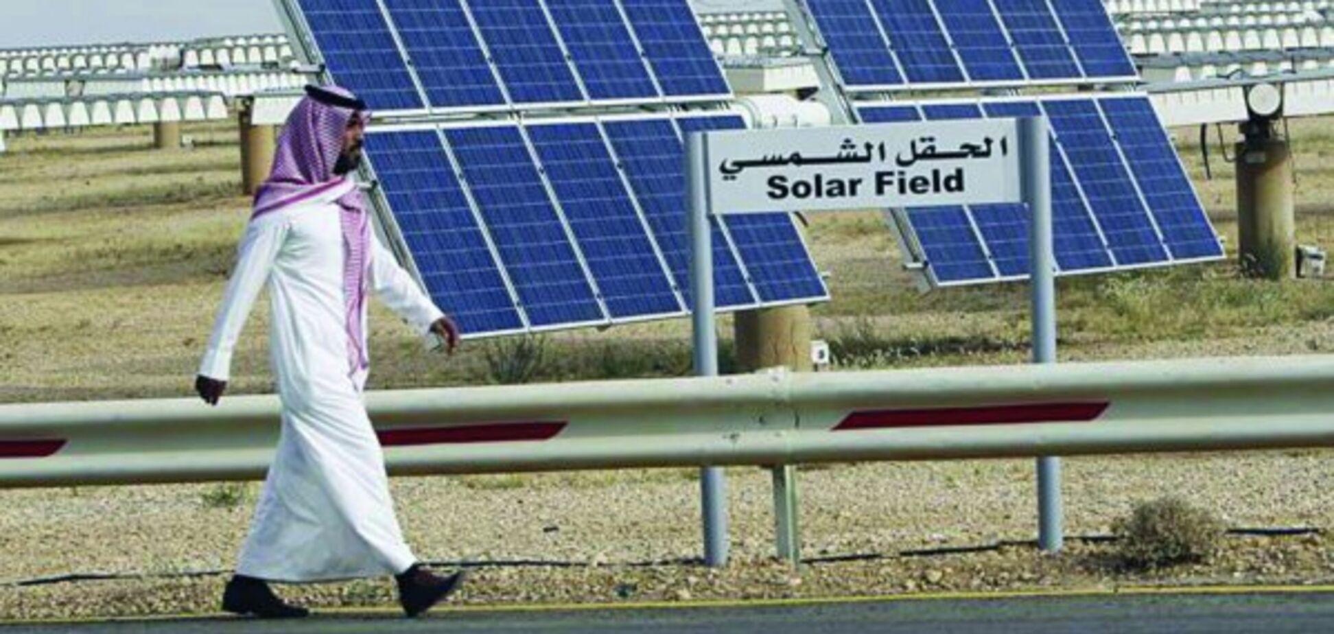 Нафтова держава повідомила про частковий перехід на сонячну енергію