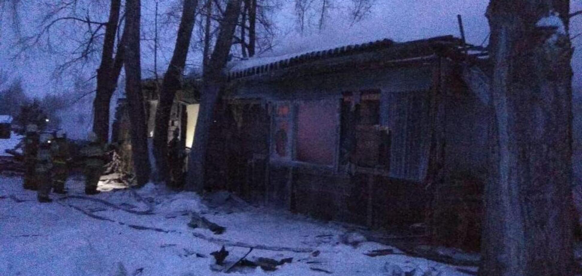У Росії в гуртожитку живцем згоріли 11 осіб: фото й відео з місця