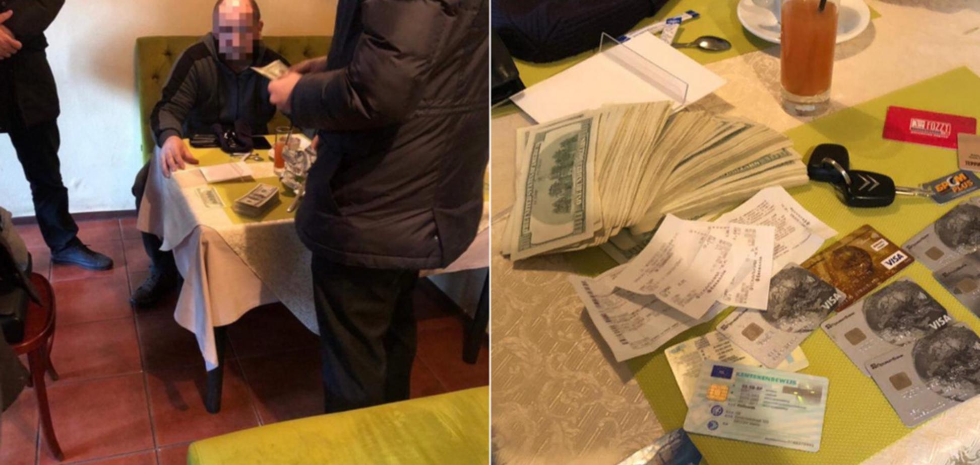 В Киеве поймали мошенников, продававших должность начальника в колонии: фото
