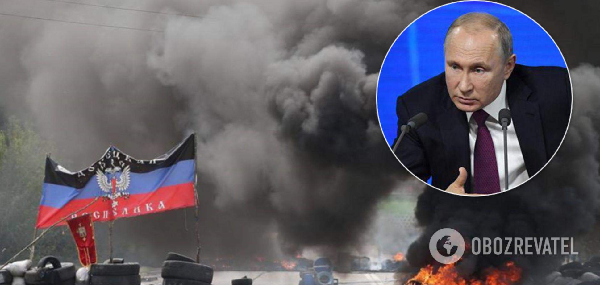 'Путину они не нужны': в России сделали неожиданный прогноз по Донбассу