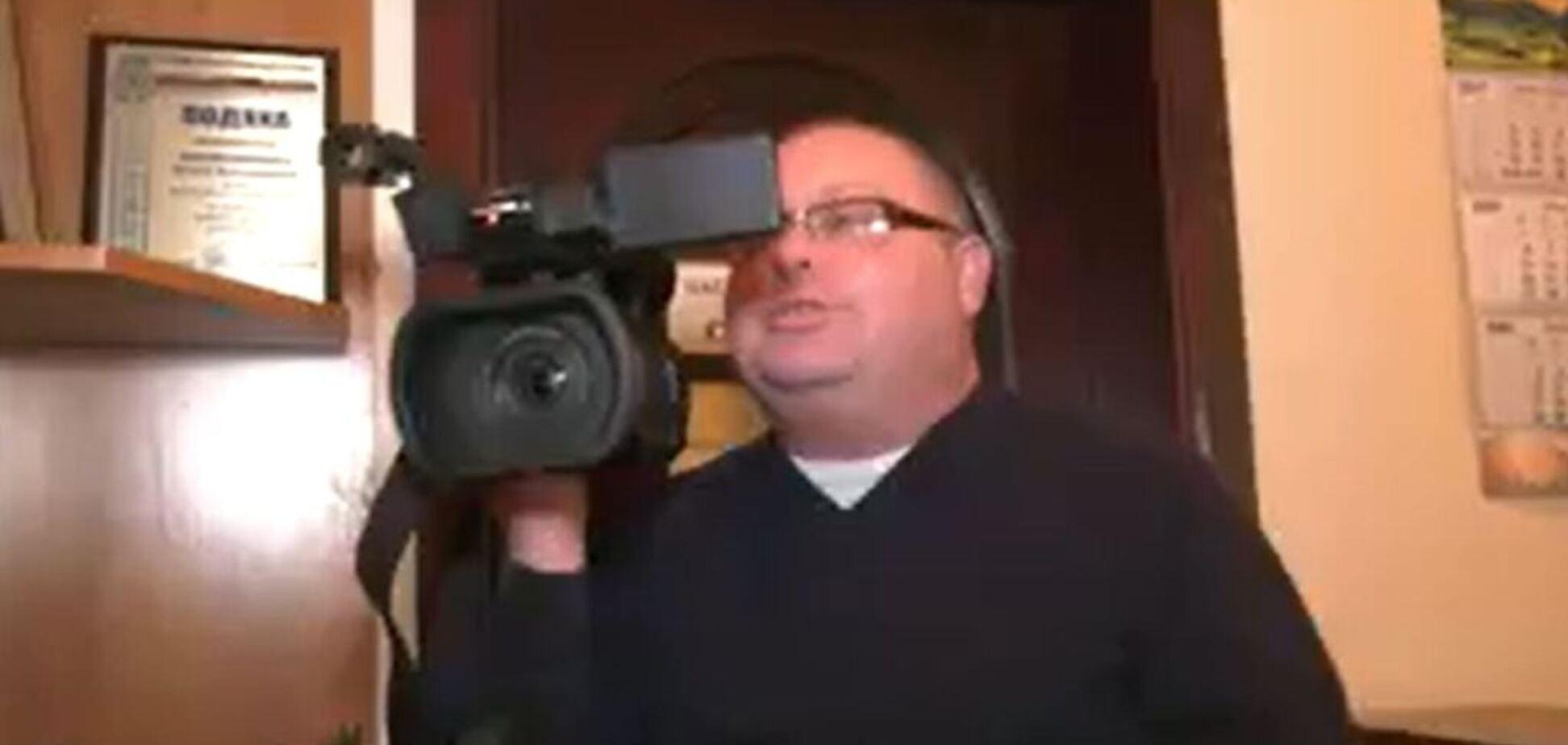 'Вон отсюда!' Советник скандальной киевской чиновницы закатил истерику на камеру