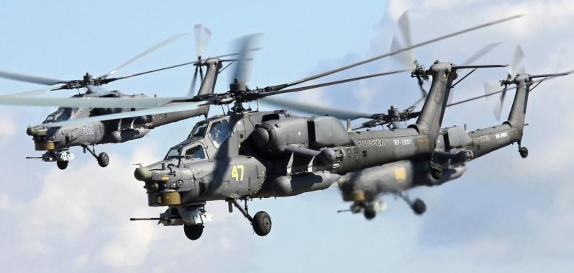 Россия подняла в небо над Крымом военные вертолеты: в чем дело