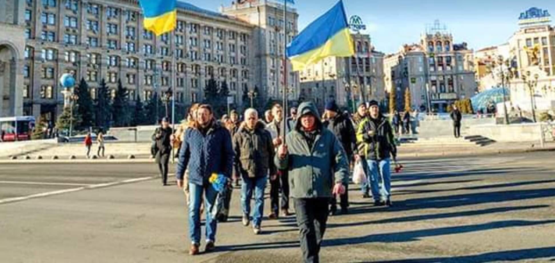 В честь Героев Небесной Сотни: в Киеве прошел Марш памяти. Фото и видео
