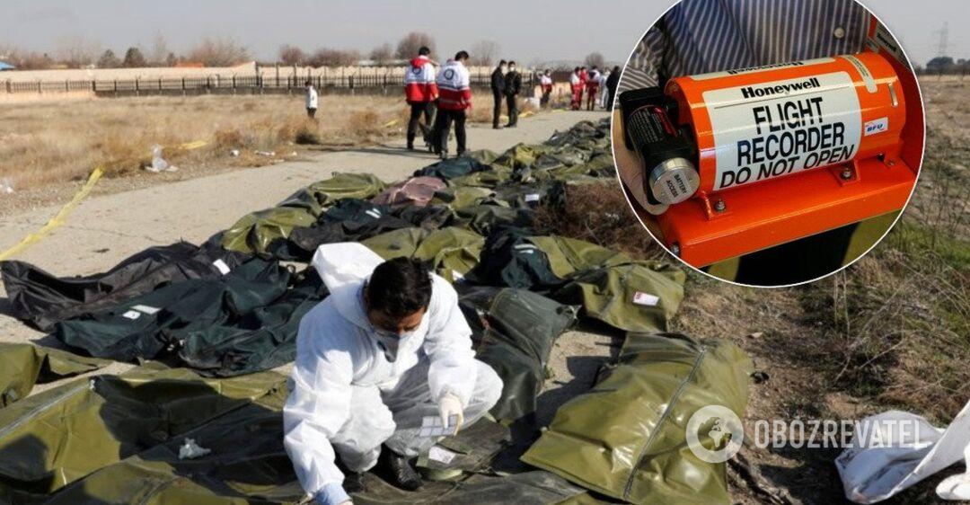 Иран отправил во Францию 'черный ящик' со сбитого самолета МАУ