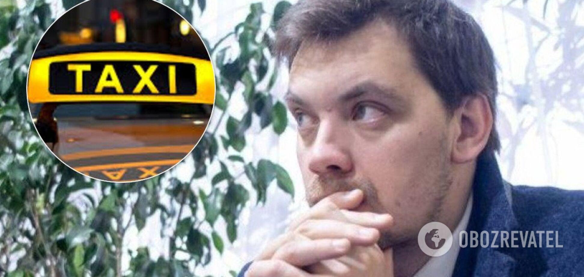 Люди страждають, поліція ігнорує: Гончарука закликали взятися за нелегальні таксі в Києві