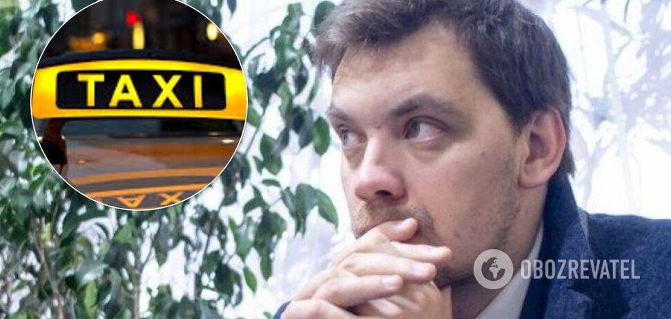 Люди страдают, полиция игнорирует: Гончарука призвали взяться за нелегальные такси в Киеве