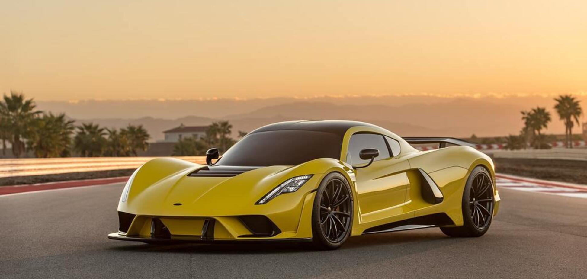 Разогнать до 500 км/ч: как выглядит самый быстрый суперкар