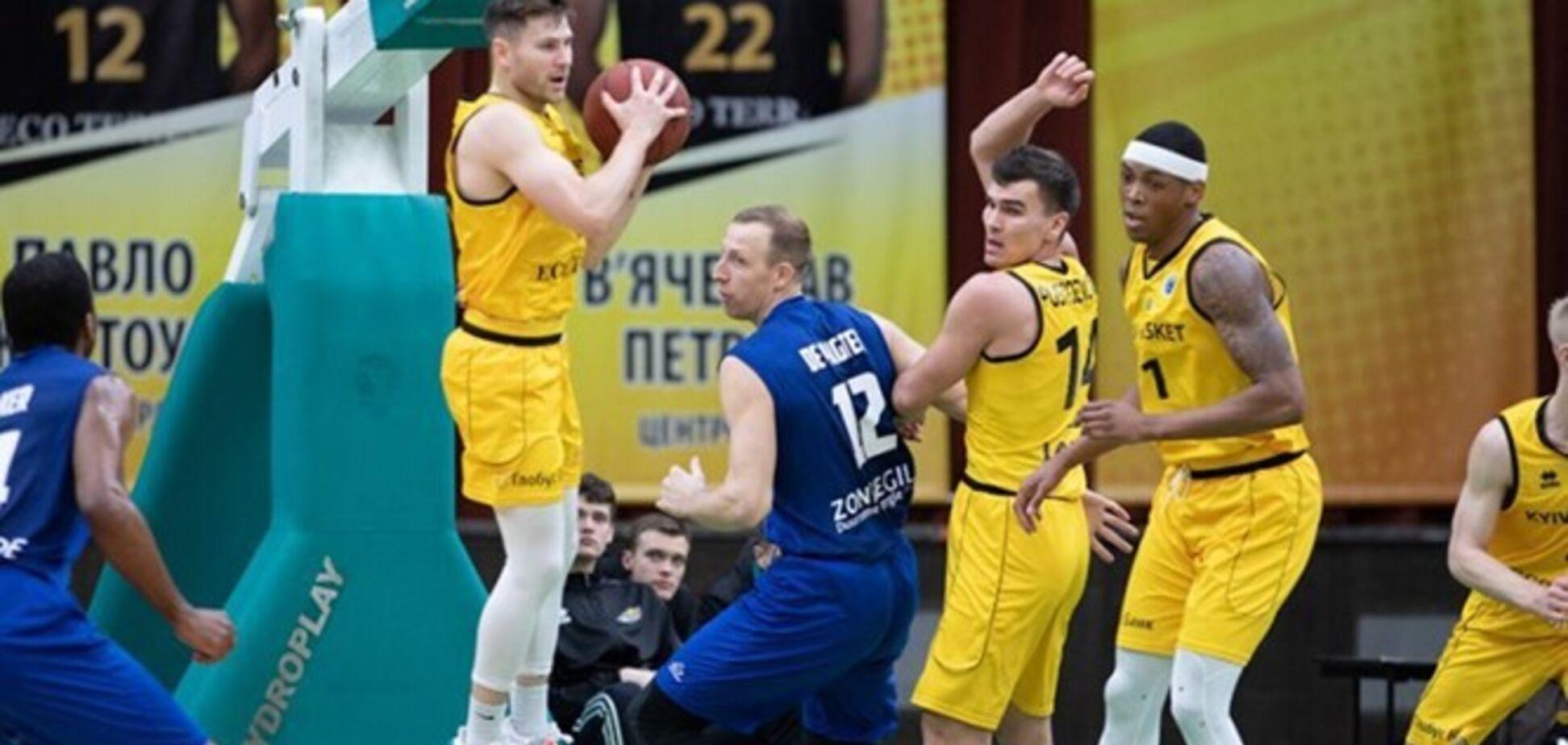 'Київ-Баскет' достроково вийшов у чвертьфінал Кубка Європи ФІБА