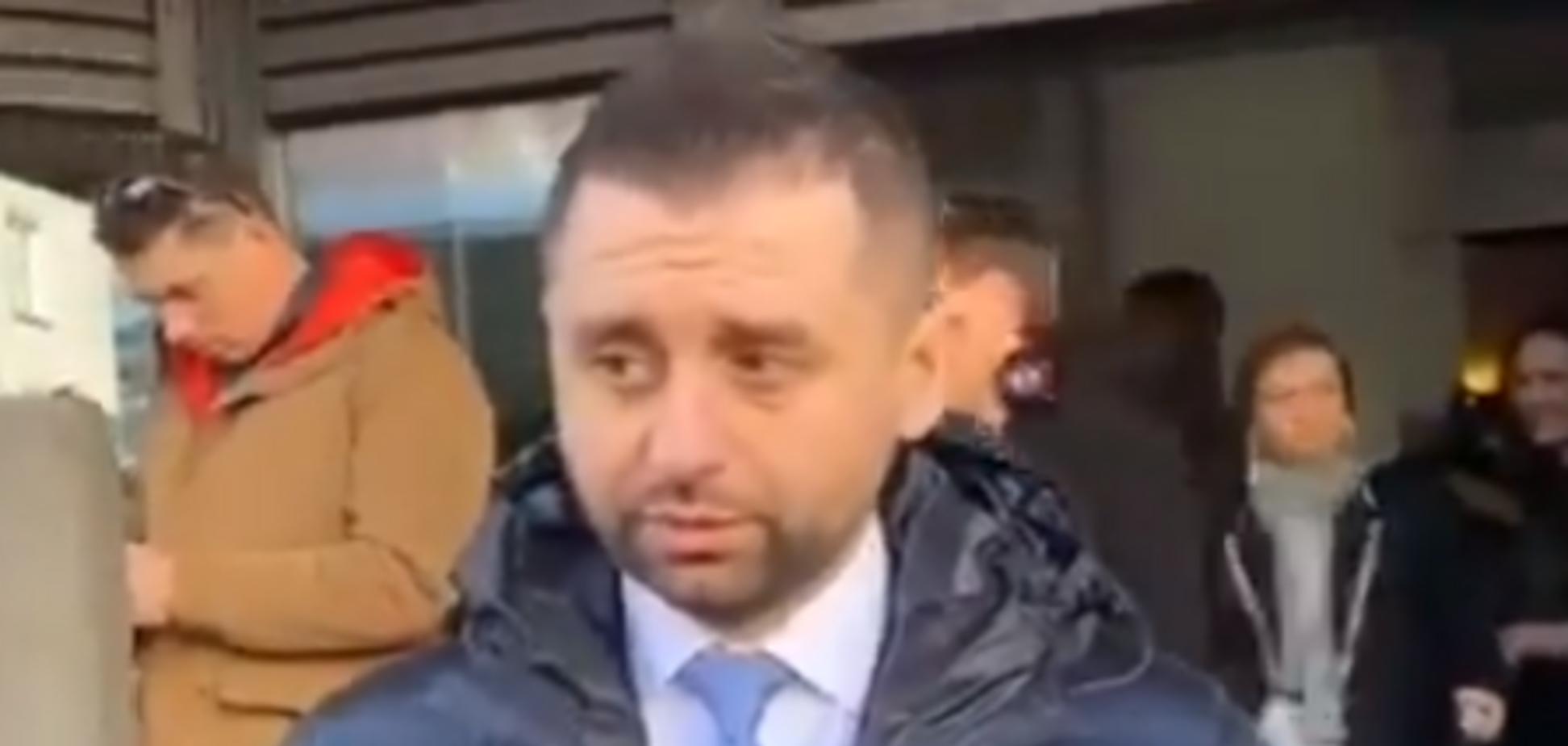 Арахамія заспокоїв пропагандистів Путіна в Давосі