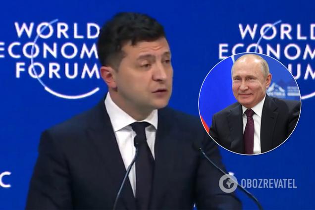Зеленський у Давосі поспілкувався з пропагандистами РФ