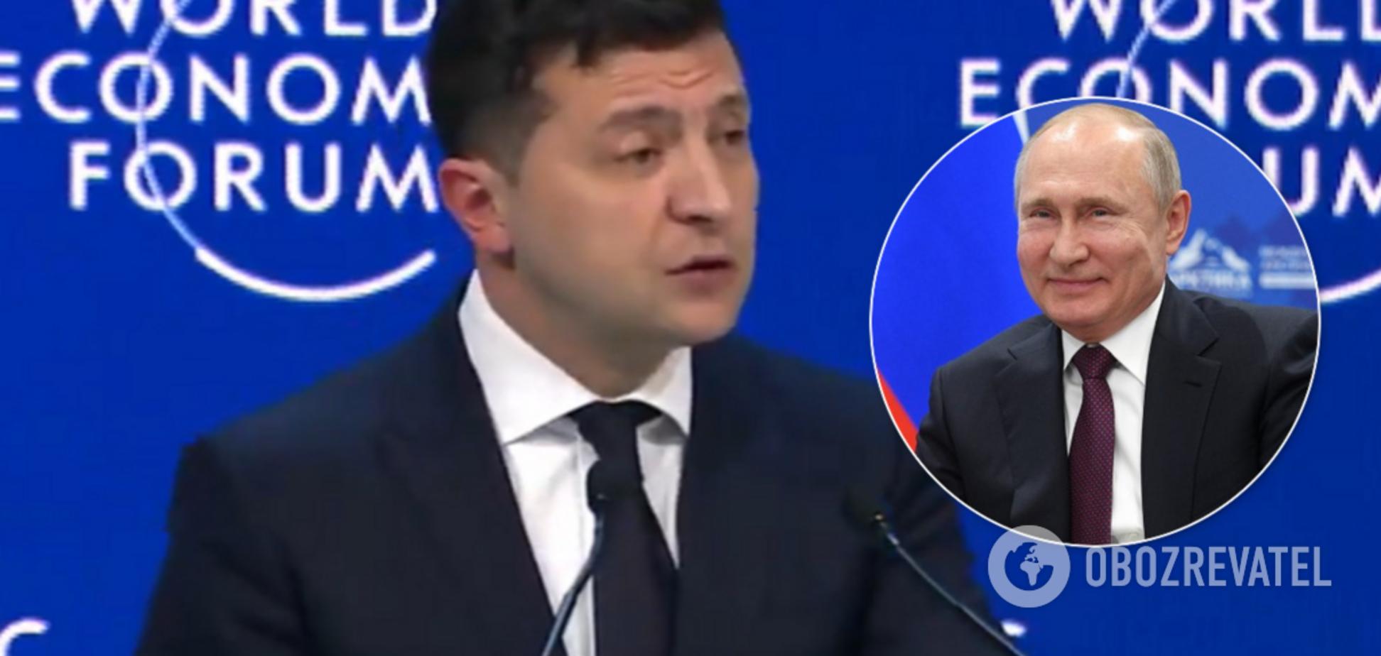 Зеленський і Арахамія в Давосі поспілкувалися з пропагандистами Кремля: відео