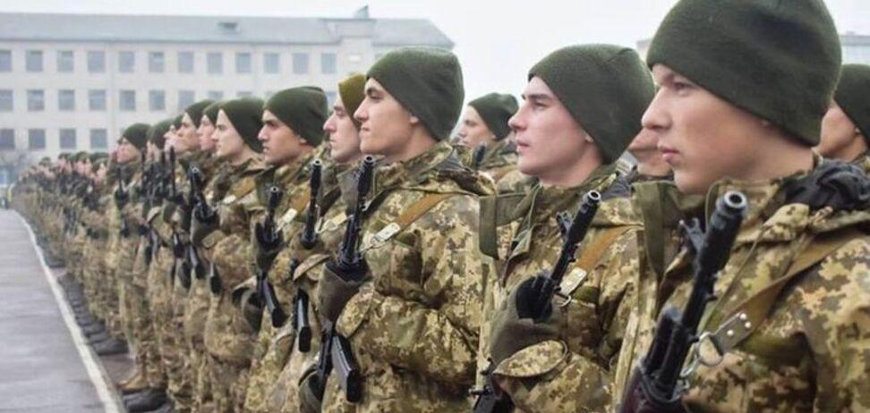 В Україні запропонували скоротити термін служби в армії