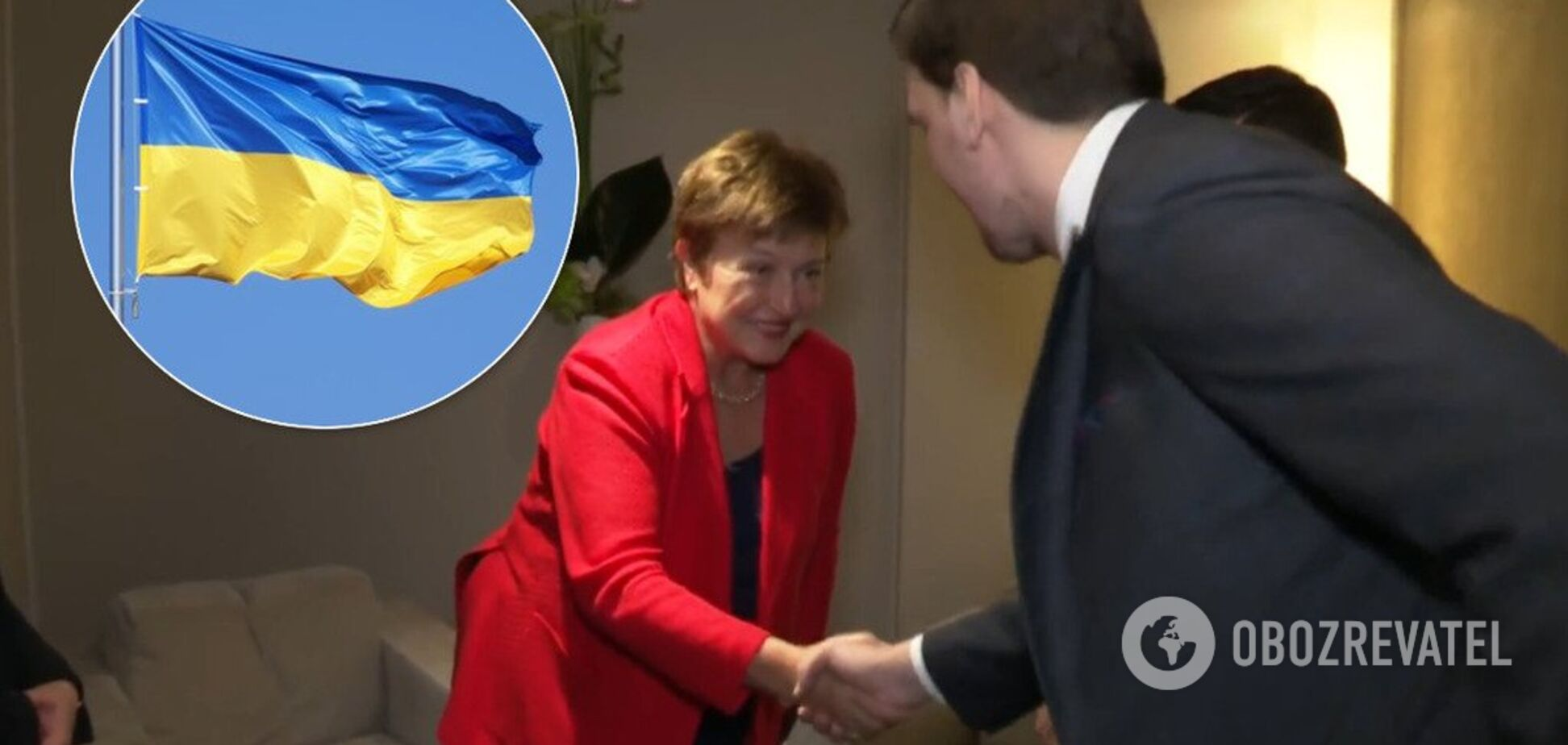 'Шкодую, що не говорю українською': голова МВФ зробила комплімент Гончаруку