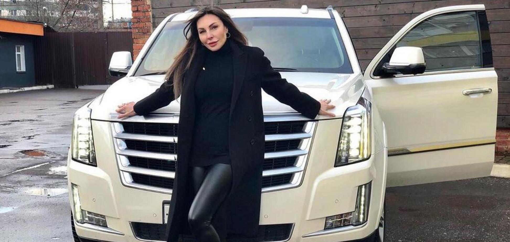 Наталья Бочкарева и ее Кадиллак